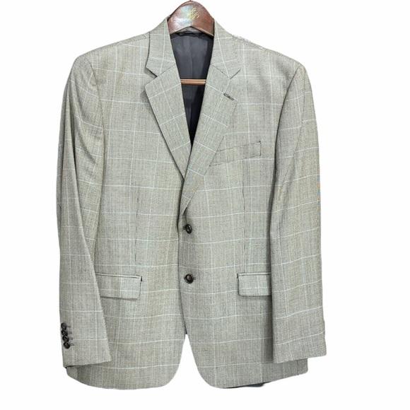 LAUREN Ralph Lauren Size 42 SHORT Silk Wool blazer
